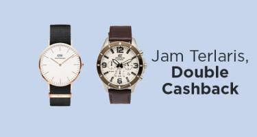 Jam Terlaris, Double Cashback