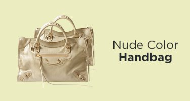 Nude Color Handbag