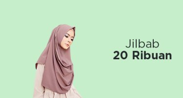 Jilbab 20 Ribuan