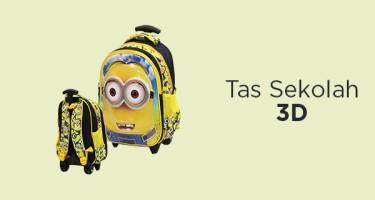 Tas Sekolah 3D