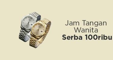 Jam Tangan Wanita Serba 100 Ribu