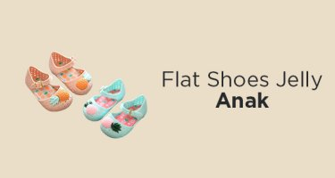 Flat Shoes Jelly Anak