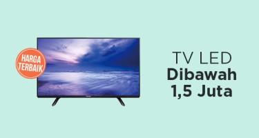TV LED di Bawah 1,5 Juta