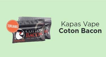 Kapas Vape Cotton Bacon