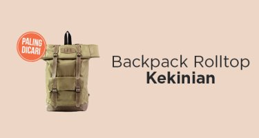 Backpack Rolltop Kekinian