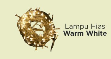Lampu Hias Warm White