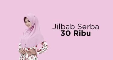 Jilbab Serba 30 Ribu