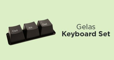 Gelas Keyboard Set