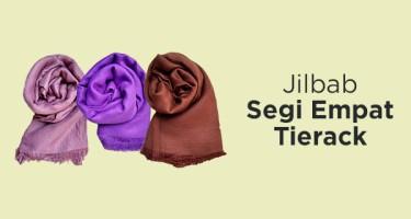 Jilbab Segi Empat Tierack