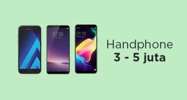 Handphone 3 - 5 juta