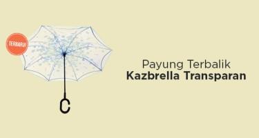 Payung Terbalik Kazbrella Transparan