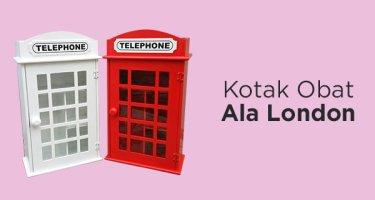 Kotak P3K Phonebox London