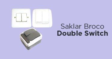 Broco Saklar Double Switch
