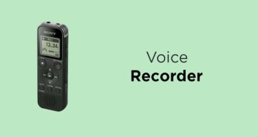 Micro Voice 4 TINY POCKET RECORDER for Voice Memo Stopwatch Countdown Alarm!
