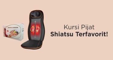 Kursi Pijat Shiatsu