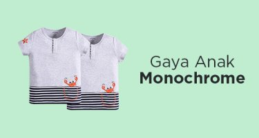 Kaos Monochrome Anak