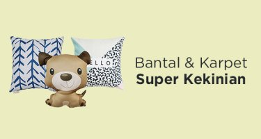 Bantal Karpet Kekinian