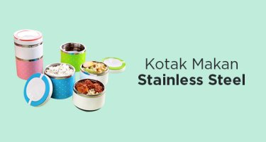Kotak Makan Stainless