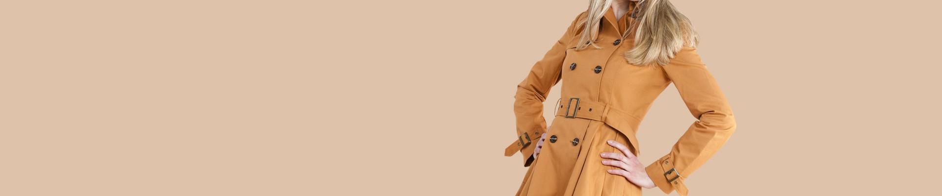 Jual Coat Wanita Online - Beli Coat Model Terbaru
