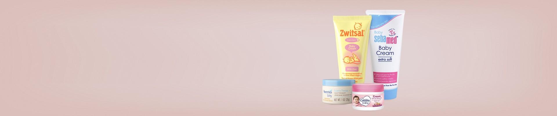 Jual Cream Baby Pencegah Masalah Kulit Bayi