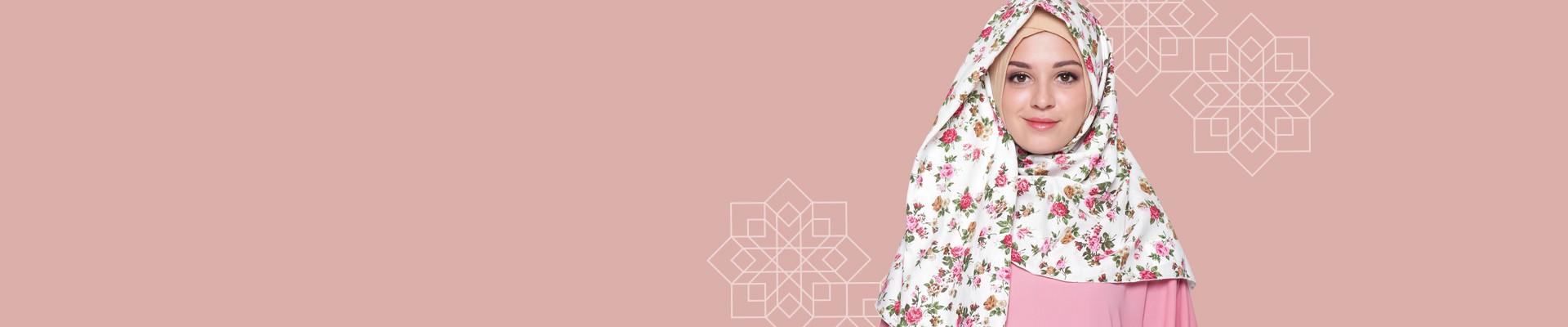 Jual Pashmina - Model Hijab Pashmina Terbaru