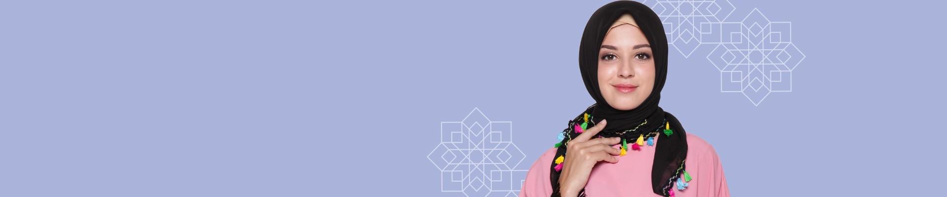 Jual Hijab Segi Empat Terbaru & Terlengkap