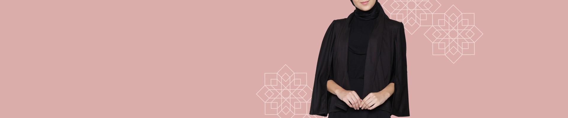 Jual Blazer Cape Muslim Wanita Terlengkap