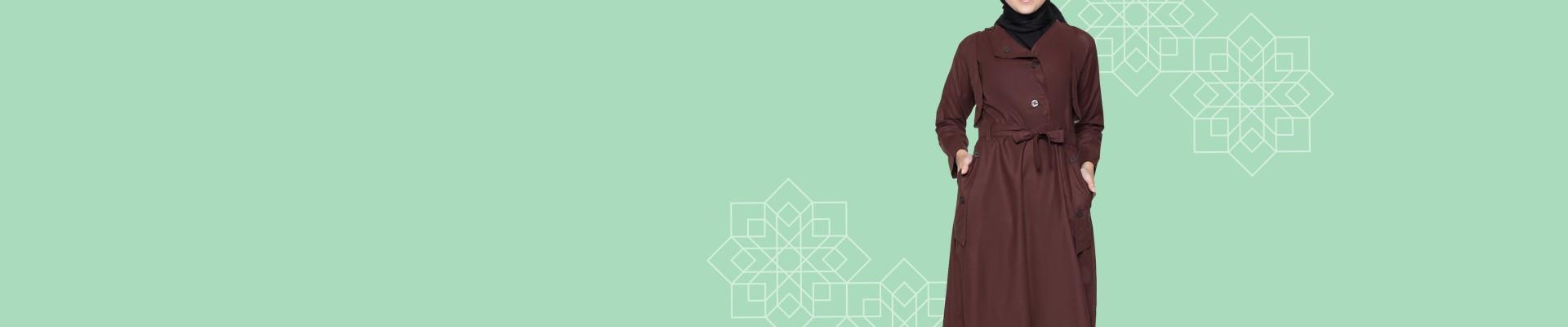 Jual Jaket Muslim - Coat Muslim Muslimah Terbaru