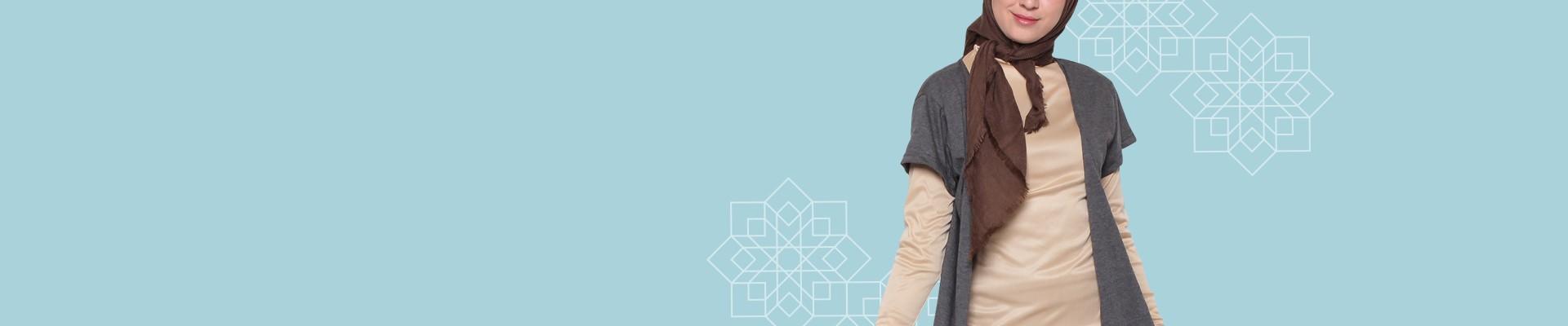 Jual Cardigan Muslim Muslimah Model Terbaru