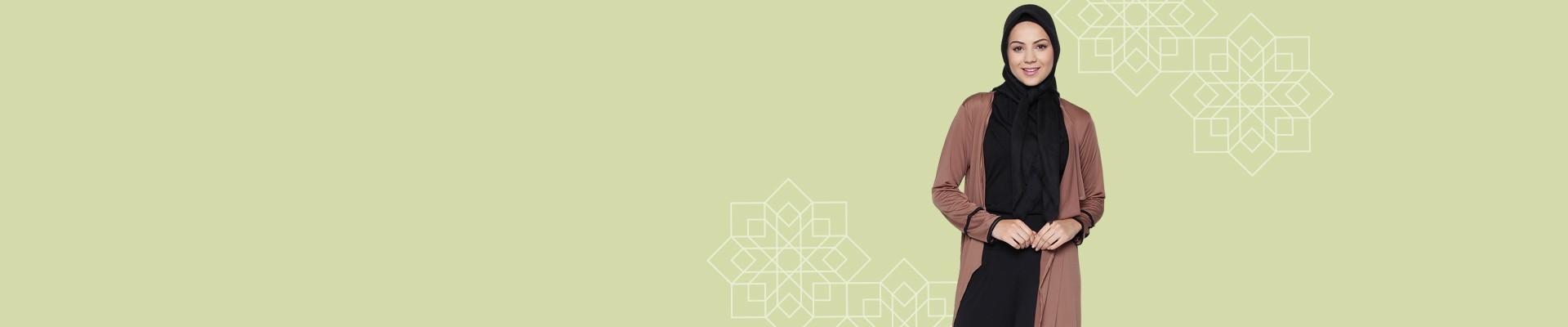 Jual Outerwear Muslim - Beli Outerwear Muslimah Terbaru