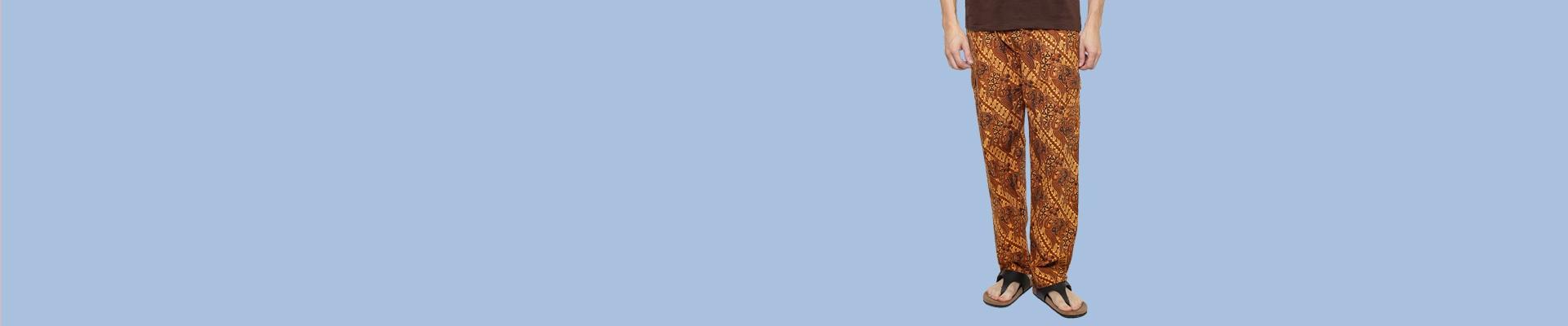 Jual Celana Batik Pria - Beli Celana Batik Pria Online