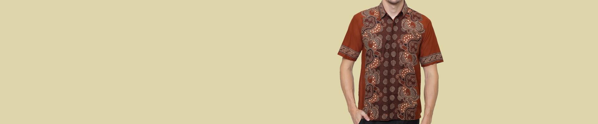 Jual Kemeja Batik Pria Pria Terbaik dan Berkualitas - Harga Terbaik Online