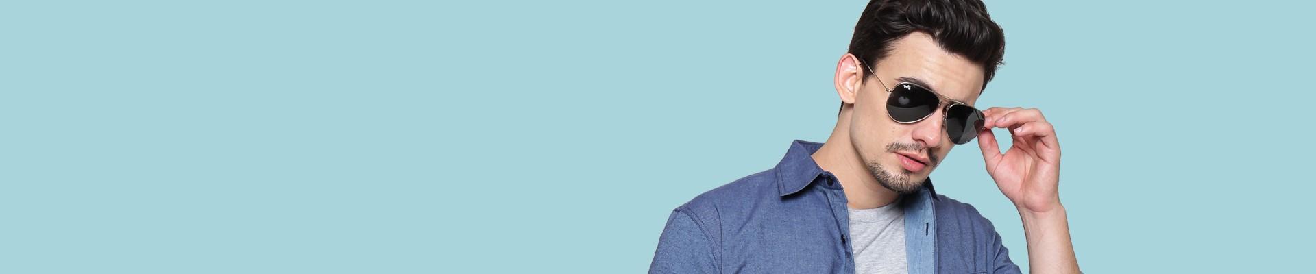 Jual Kacamata Hitam Pria Model Terbaru Online