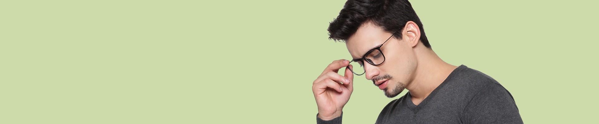 Jual Frame Kacamata Pria Pria Model & Gaya Terbaru