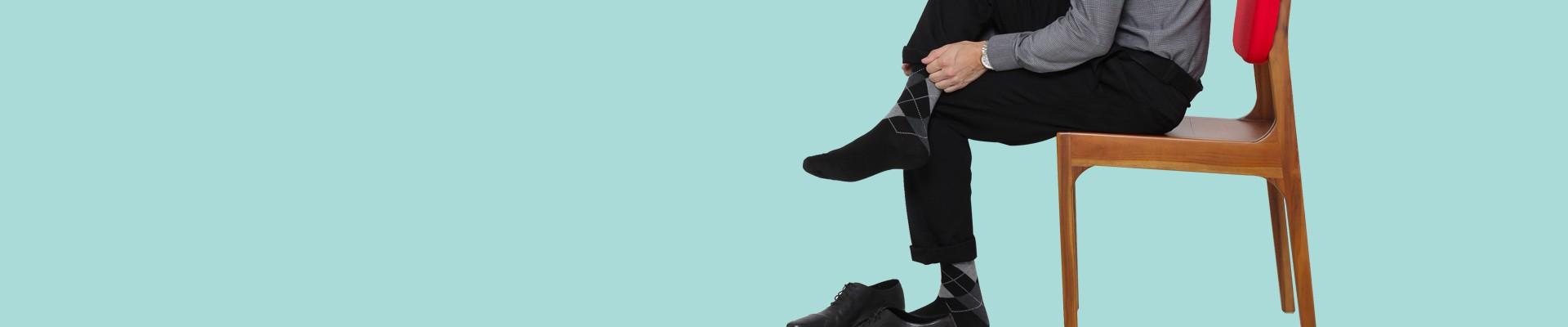 Jual Kaos Kaki Pria Motif Terbaru & Terlengkap - Harga Murah / Grosir