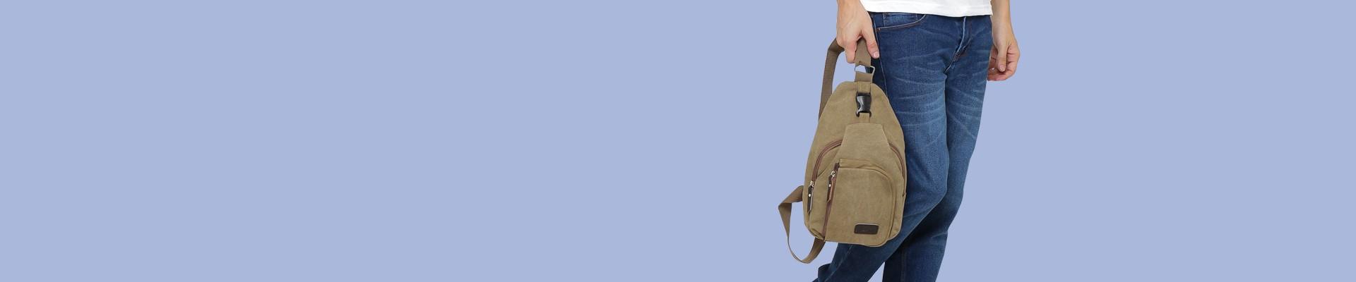 Jual Waist Bag Pria / Tas Pinggang Pria - Model Baru & Harga Murah