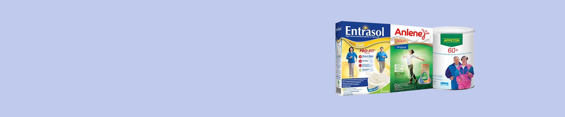Jual Susu Lansia Terbaik & Terlengkap - Harga Murah