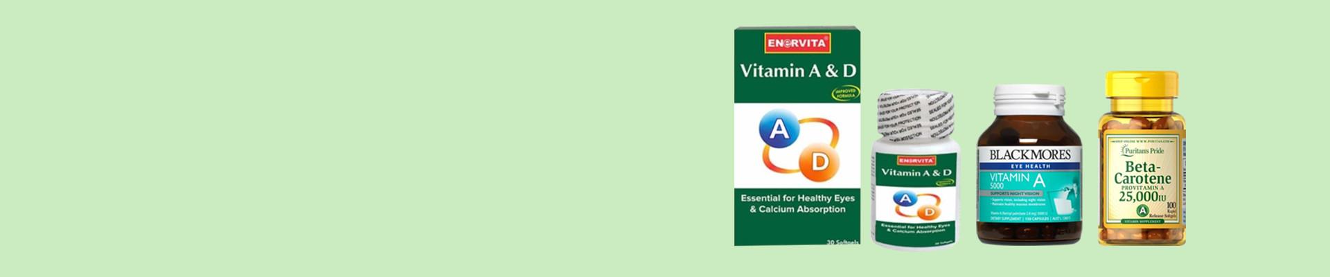 Jual Vitamin A Online - Multivitamin Terlengkap