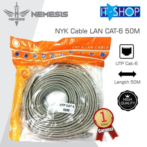 Foto Produk NYK Cable LAN CAT-6 50M dari IT-SHOP-ONLINE