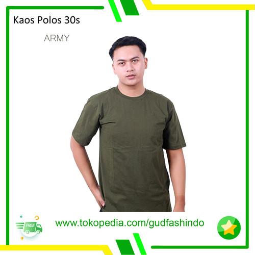 Foto Produk Kaos Polos Pria Wanita combed 30s - S dari Gudang Fashion Indonesia