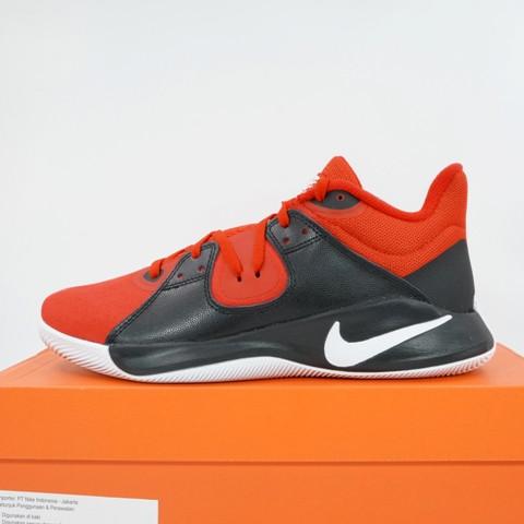Foto Produk Sepatu Basket Nike Flyby Mid Black Red CD0189-600 Original BNIB dari KING OF DRIBBLE