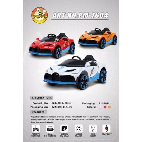 Jual Mainan Anak Mobil Aki Pacific Pm 7604 Kota Surabaya Pratama Bike Tokopedia
