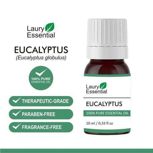 Foto Produk Laury Eucalyptus Essential Oil 100% Murni Minyak Esensial Atsiri dari Laury Essential