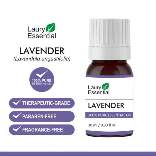 Foto Produk Laury Lavender Essential Oil 100% Murni Minyak Esensial Atsiri dari Laury Essential
