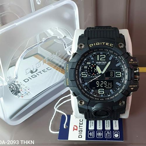 Foto Produk Digitec DG-2093 Black white Original dari Emgus Watch