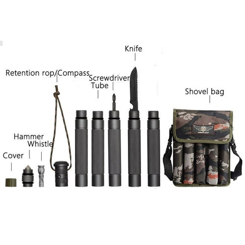 Foto Produk TONGKAT STICK JOINABLE OUTDOOR CAMPING SURVIVAL SELF DEFENSE TACTICAL dari DO OFFICIAL STORE