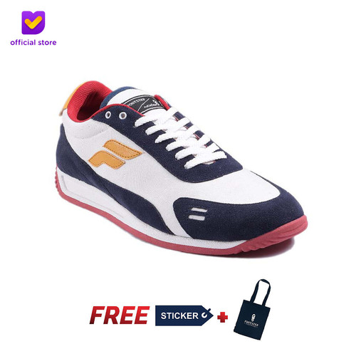 Foto Produk Footstep Footwear Fusion V2 KK23 X Kim Kurniawan - White Red - 39 dari Footstep Footwear