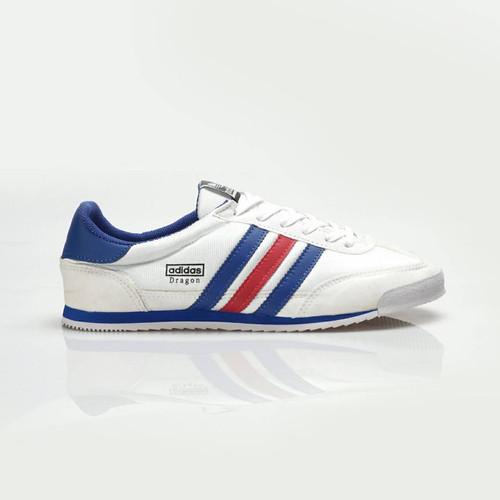 Foto Produk SEPATU CASUAL PRIA SNEAKERS ADIDAS DRAGON PUTIH FRANCIS IMPORT VIETNAM dari WAT | Footwear