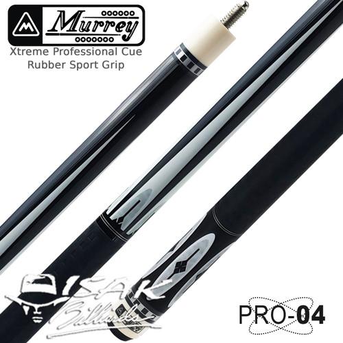 Foto Produk Murrey PRO-4 Xtreme - Rubber Grip Billiard Cue Stick Stik Biliar Pool dari ISAK Billiard Sport Co.