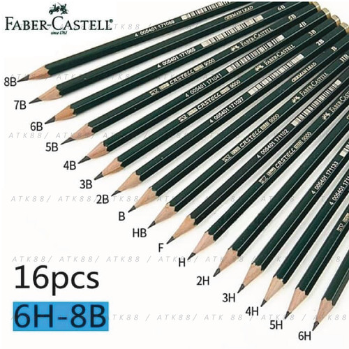 Foto Produk Pensil B Faber-Castell 9000 1Pcs dari Pusat Grosir ATK 88